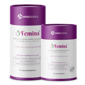 Femina Probiotics Capsules with Cranberry for Women
