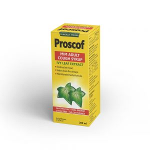 Proscof Adult – Cough Syrup with Ivy Leaf Extract