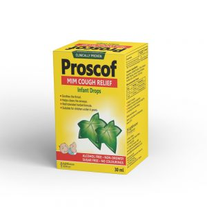 Proscof Infants – Cough Syrup with Ivy Leaf Extract (30mls)
